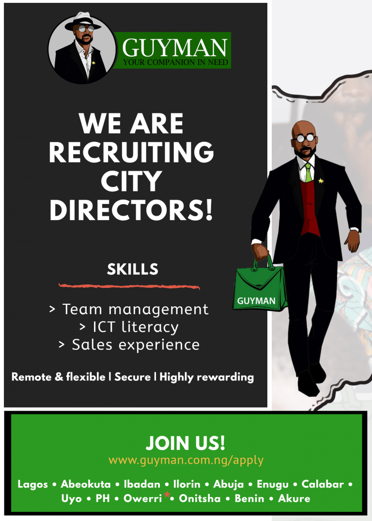 Guyman is recruiting city directors